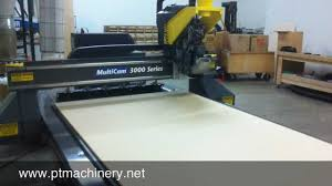cnc router table 4x8 multicam 4x8 3000 series cnc router with auto tool changer youtube