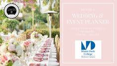 wedding planning classes mdc hialeah logo lwpi wedding and event planning college classes