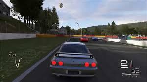 forza 5 1993 nissan skyline gt r v spec r32 on spa gameplay youtube