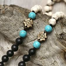 wood beads necklace designs images Aobei pearl personal necklace in new design with turquoise wooden jpg