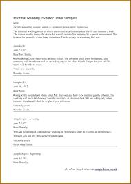 wedding invitations letter template wedding invitation letter template