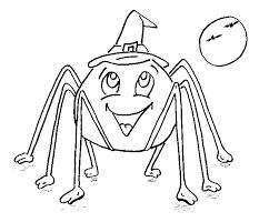 imagenes de halloween para imprimir y colorear dibujo colorear spider smile dibujo de halloween para imprimir