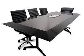 Black Boardroom Table Black Boardroom Table Bonners Furniture