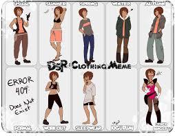 Meme Clothing - dsr clothing meme cori by missingsock on deviantart