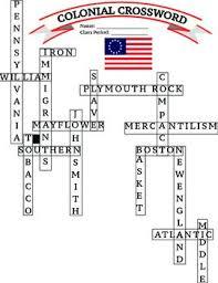 6 the original thirteen colonies crossword u0026 13 colonies regions