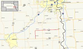 Map Of Nebraska Cities Nebraska Highway 1 Wikipedia