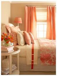 Color Series Decorating With Coral Coral Decorating And Kids Rooms - Coral color bedroom