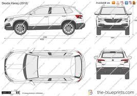 the blueprints com vector drawing skoda karoq