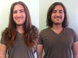 haircuts after donating hair how to donate your hair to charity like a chion and without