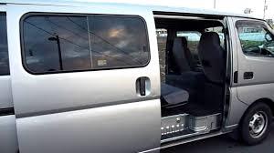 nissan urvan interior 2004 nissan caravan youtube