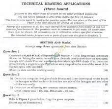 icse question papers 2013 for class 10 u2013 technical drawing