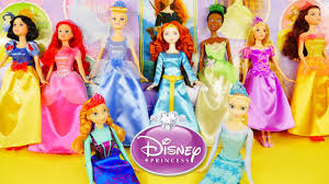 Ultimate Disney Princess Barbie Doll Collection Ariel Snow White