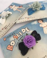 hair barrette buy bow with flower details vintage children s hair barrette at