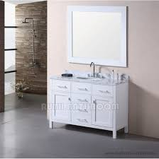 48 Inch Solid Wood Bathroom Vanity by White Bathroom Vanity China Bath Vanities Manufacturer And