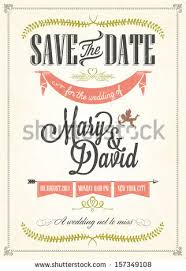 wedding invitations and save the dates vintage wedding invitation stock images royalty free images