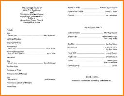 ceremony program templates 5 template for program free invoice letter