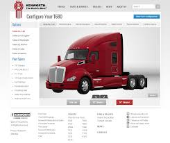 build your own kenworth truck the newsroom kenworth launches t680 online truck configurator