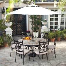 wrought iron patio furniture in cast dining set renate
