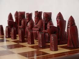 Contemporary Chess Set Chessbaron Berkeley Chess Isle Of Lewis Chess