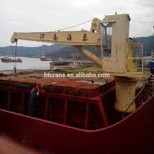 marine electro hydraulic deck crane deck jib crane buy deck jib