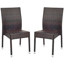 Patio Chairs Patio Furniture Wonderful Stackable Chairs Foter Within Ordinary