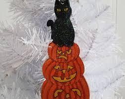 cat ornament cat decor tuxedo cat gift
