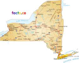 New York County Map Political Map Of New York New York Map