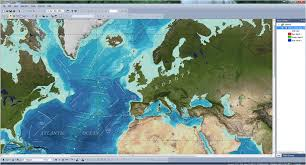World Map With Ocean Labels by World Oceans Shapefile Gis Cartotalk