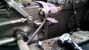 massey ferguson 135 clutch issues youtube
