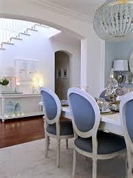kristy wicks u0027 blue u0026 white dining room