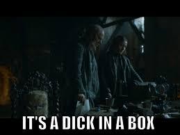 Dick In A Box Meme - secret of the huntsman