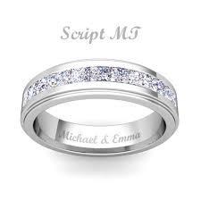 wedding band engraving free ring engraving engravable rings my wedding ring