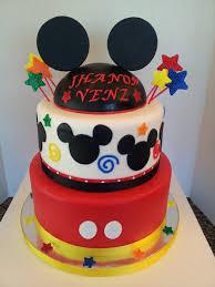 mickey mouse 1st birthday cake cake by jb cakesdecor