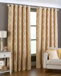 White House Gold Curtains by Curtains Julian Charles Dahlia Gold Charcoal Lined Eyelet