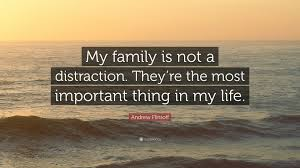 quote distraction andrew flintoff quote u201cmy family is not a distraction they u0027re
