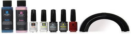 amazon com red carpet manicure pro 45 starter kit gel nail kit