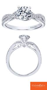 white girl rings images 39 best gabriel co engagement rings images jpg