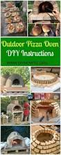 Diy Backyard Pizza Oven by Best 25 Oven Diy Ideas On Pinterest Brickhouse Pizza Build A