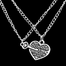 necklace with heart lock images New arrival 1 pair heart lock key pendant charm necklace best jpg