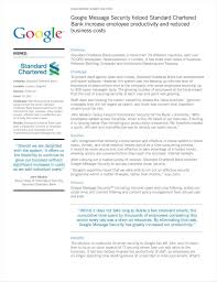 Free Google Business Email by Global Financial Services Company Protects Their Email