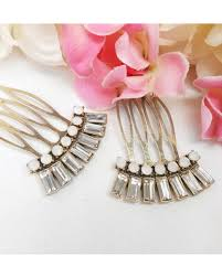 wedding hair combs here s a great price on two gold deco hair combs set of 2