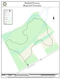 Cardinal Greenway Map Nayfield Preserve New Jersey Trails Association