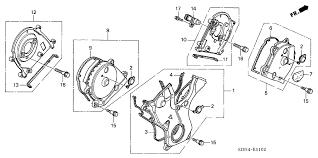 11810 rca a01 genuine honda cover assy timing belt lower