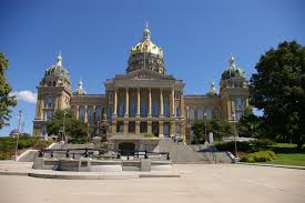 Iowa State Capitol by Iowa Us Courthouses