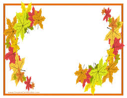 thanksgiving leaves clipart free thanksgiving border templates customizable u0026 printable