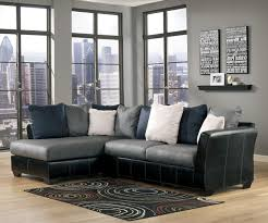 Ashley Furniture Leather Sectional With Chaise Masoli Cobblestone 2 Piece Sectional With Chaise By Benchcraft
