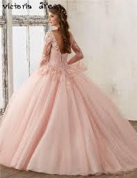 de 15 anos debutante gowns long coral quinceanera dresses with