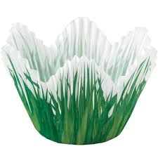 halloween cake cases shaped grass cupcake liners wilton