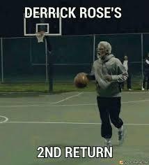 Derrick Rose Injury Meme - rose memes