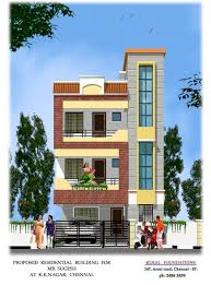 Indian Front Home Design Gallery Elevation In India House Map Elevation Exterior House Design 3d